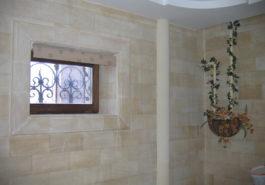 Внутреннее обрамление окна пилястровое из ПС