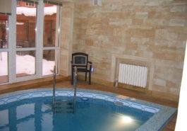 Внутреннее обрамление стен бассейна из РДн