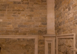 Обрамление внутр. угла колонной на тумбе