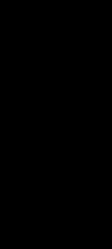 Карниз B7 - чертеж