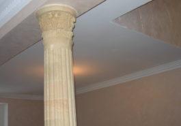 колонна в интерьере